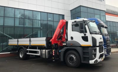 FORD TRUCKS 1833 DC с КМУ Fassi F155A.0.22
